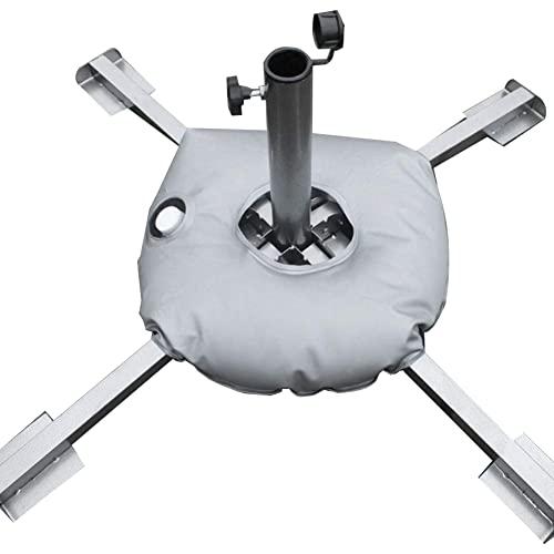 R&er Wasser-Gewichtstasche, Tragbare Faltbare R&e Wassertasche Outdoor-Regenschirm-Feder-Flagge-Basis-Gewichtstasche gefüllt mit Wasser oder Sand (45 cm/17,72 Zoll)
