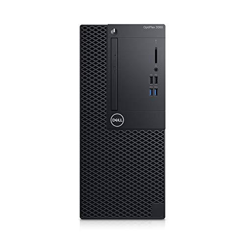 DELL Desktop Optiplex 3060 MT, Processore Intel Core I7-8700, RAM 16GB, 256 SSD, Scheda Grafica Integrata, Windows 10 Pro (Ricondizionato)