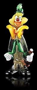 Arte de Murano Payaso de cristal de Murano, glass, Multicolor, pequeña