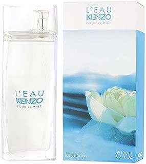 L'eau Par Kenzo by Kenzo, 3.3 oz Eau De Toieltte Spray for women. Leau ( Package May Vary)
