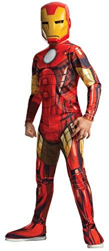 Rubie's - Disfraz Iron Man Classic Infantil, 8-10 años (880607-L)