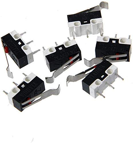 Nuovo di Zecca Durevole 10 pz/Lotto Endstop 3D Parti di Stampante Nuove di Zecca Micro finecorsa per Stampante I3 Delta Kossel Makerbot RAMPS 1.4 Accessori Fai da Te Parti della Stampante 3D Nuove d