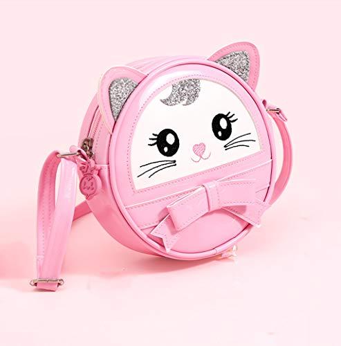 LIUHUIJUN Bolsas Infantiles Messenger Bags Girls Western Style Fashion Babs Bags Mini Lindo Y Moderno Multi-Color Opcional Pink