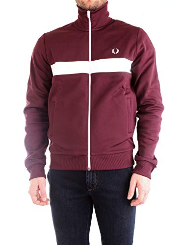 Fred Perry Contrast Panel Track Jacket, Sportjackett - M