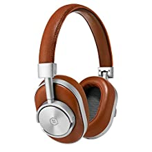 Master & Dynamic MW60 Wireless Bluetooth Foldable Headphones - Premium Over-The-Ear Headphones - Noise Isolating - Portable
