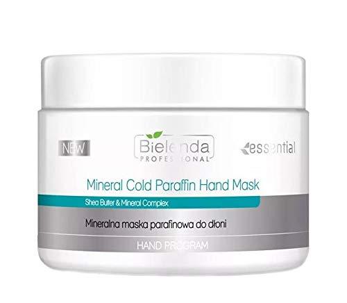 Bielenda Professional Máscara de mano de parafina fría mineral con manteca de karité y complejo mineral, 150 g