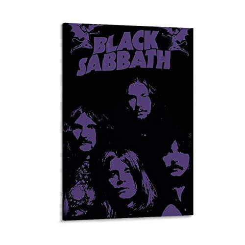NBEI Black Sabbath Master of Reality - Lienzo decorativo para pared (30 x 45 cm), diseño de maestro de la realidad