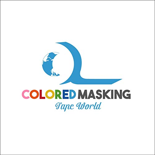 """Colored Masking Tape World - 11 Pack Set - #1 Best Quality Multi Color Masking Tape - 1"""" x 60 Yards (660 Total Yards) Arts & Crafts - Labeling - Painters tape - for All Ages"""