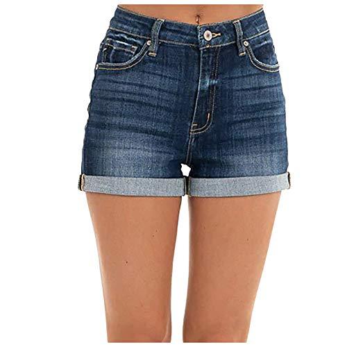 Kurze Hose Mädchen Jeans Summer Jeanshosen Damen Sexy Damen Shorts Denim High Waist