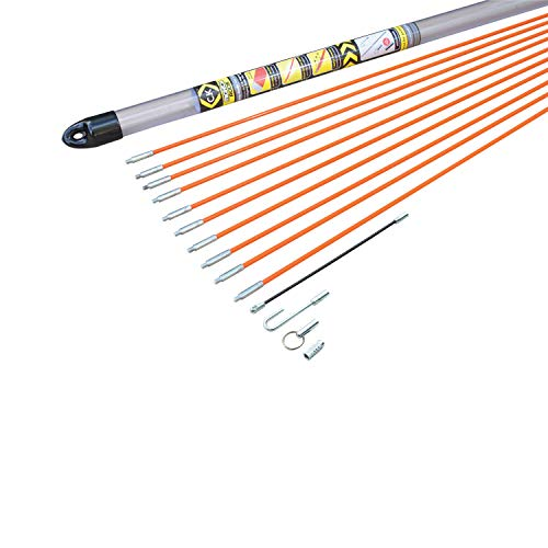 C.K T5410 Mighty Cable Rod Set, Set of 14 Pieces
