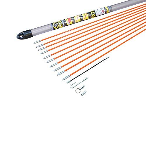 C.K T5410 Kabel-Einziehstangensatz 'Mighty-Rod' 10 Meter