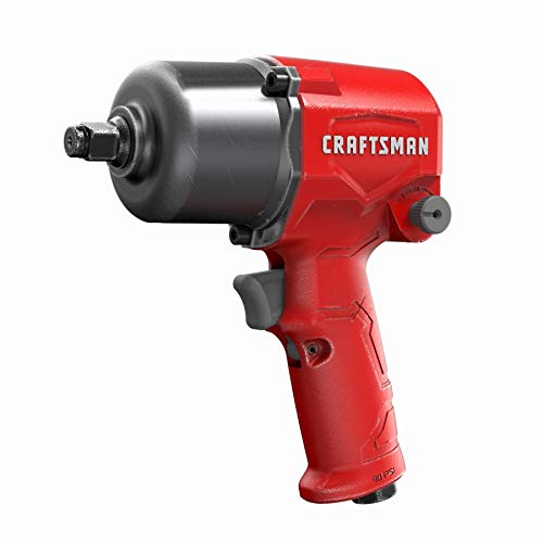 CRAFTSMAN CMXPTSG1004NB Air Impact Wrench, Red and Black