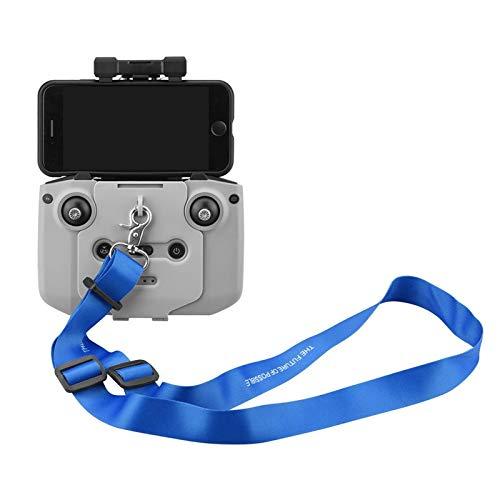 USIRIY Einstellbar Lanyard Drone Romote Controller Tragegurt mit Hakenadapter Für DJI Mavic Mini 2 (Blau)