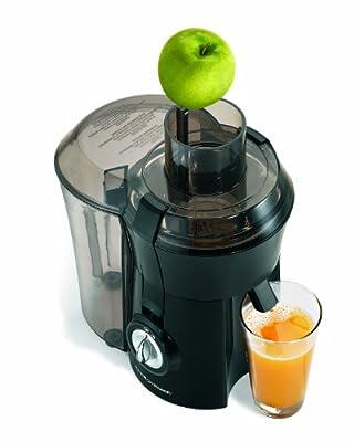 Hamilton Beach 67601 Big Mouth Juice Extractor, Black