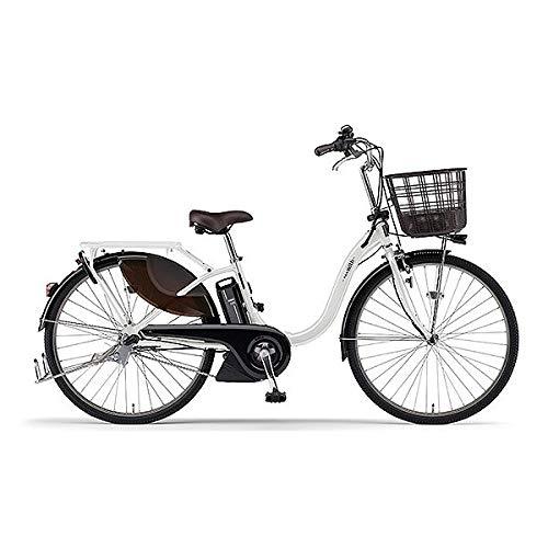 ヤマハ(YAMAHA) 電動アシスト自転車 PAS With PA26W ピュアパールホワイト