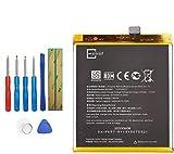 E-YIIVIIL Batería de repuesto BLP657 compatible con OnePlus 6 A6003 OnePlus 6 Dual SIM Global con herramientas (no compatible con OnePlus 6T)