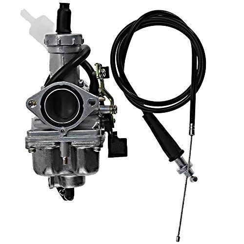 Carburetor Fits replacement for HONDA TRX250EX SPORTRAX 250 2001-2005 w/Throttle Cable Fuel Filter