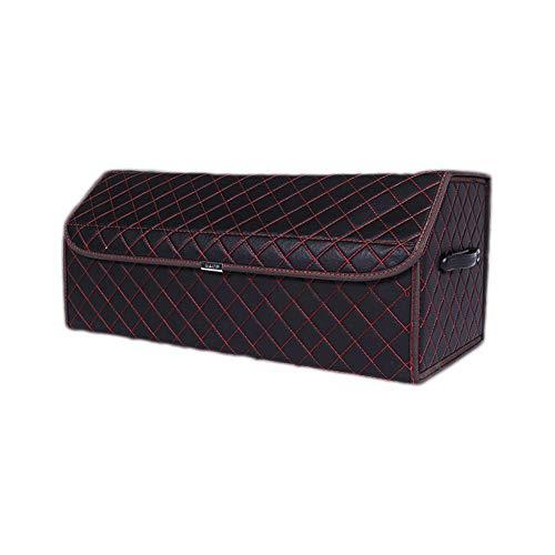SqsYqz Aufbewahrungsbox Car Storage Supplies Multifunktions-aufbewahrungsbox Kofferraum Auto Trümmer,BlackRed,L