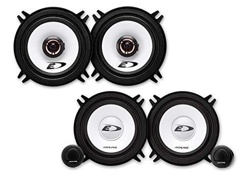 Jvc Frontal//Trasera 16,5/cm//165/mm Auto Altavoz//Cajas//Speaker Set Completo para Peugeot