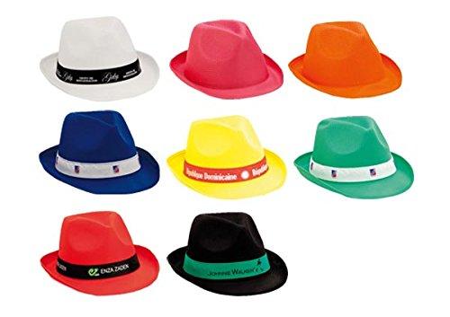 DISOK Lote de 20 Sombreros Party - Sombreros de Colores Baratos para Fiestas, Despedidas, Eventos y Celebraciones (Cinta No incluida)
