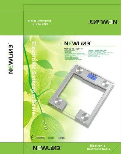 NewlineNY Newline SCB - 105 Newline Digital Talking Bathroom Scale, 440 Pound Capacity
