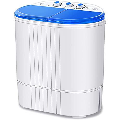 Auertech Portable Washing Machine, 20lbs Mini Twin...