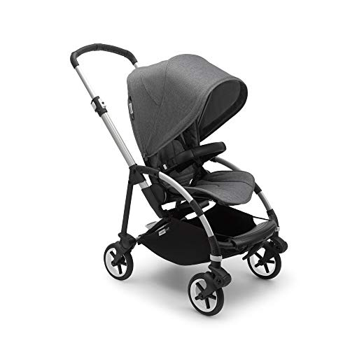 Bugaboo Bee 6 Pushchair - Lightweight, Compact City Stroller for Newborn Babies and Toddlers, Bumper bar, 7