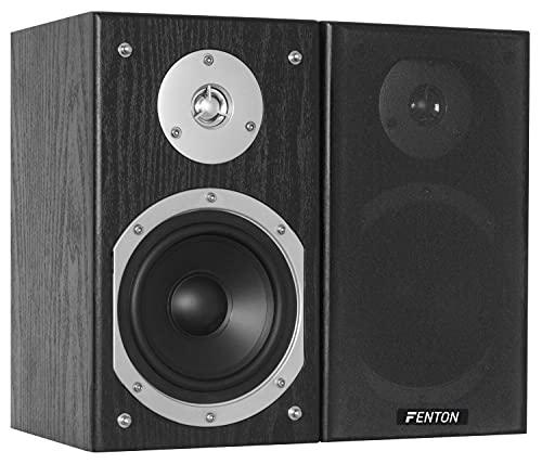 Fenton SHFB55B - Altavoces (Mesa/estante, Speaker set unit, Alámbrico, Terminal, 20 - 20000 Hz, De 2 vías)