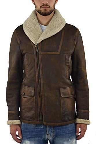 Dsquared2 Men's Long Sheepskin Coat - size 50