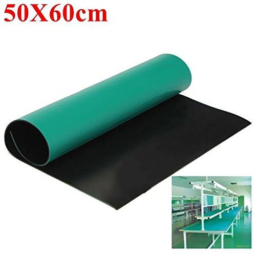Doradus Grüne Arbeitsfläche anti statischer esd grouding Matte 50x60 Cm für die Elektronikreparatur