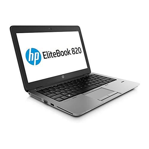 HP EliteBook 820 G2 - PC Portable - 12.5 - (Core i5-5200U / 2.20 GHz, 8Go de RAM, Disque SSD 128Go SSD, WiFi, Windows 10, AZERTY Clavier) Modèle très Rapide (Reconditionné)