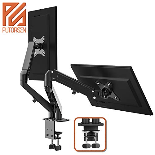 PUTORSEN® Soporte Monitor Doble PC Brazo Monitor