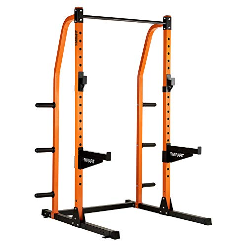 Mirafit M2 Half Power Rack with Storage System