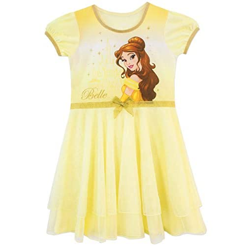 Disney Camicia da Notte delle Ragazze Bella e la Bestia 9-10 Anni