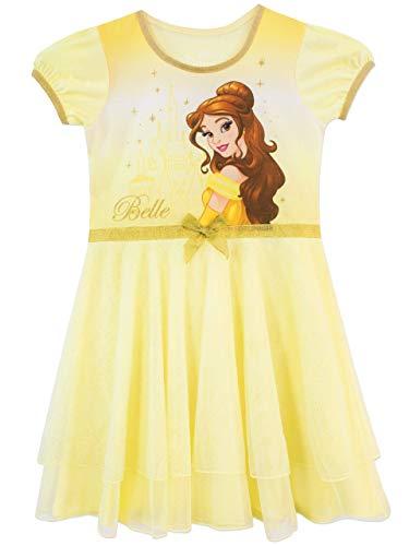 Disney Mädchen Schöne und das Biest Nachthemden Gelb 98