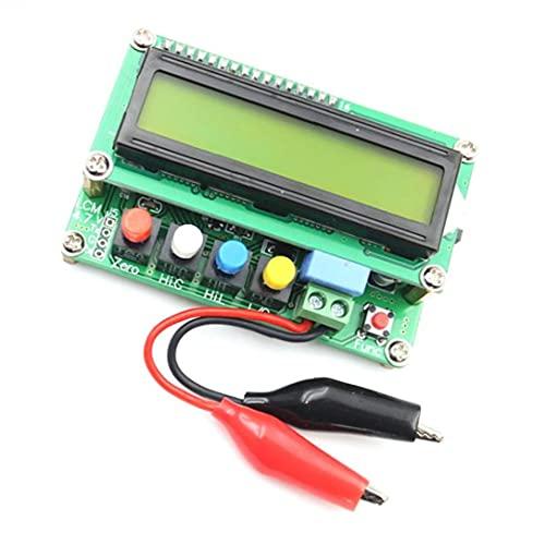 BRAVOSOLEIL Lc100-a De Alta Precisión Inductancia Digital Medidor De Capacitancia Verde Mini Interfaz Usb Fuente De Alimentación