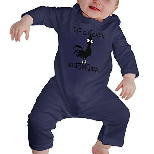 Happiness Station The Chicken Whisperer Baby Playsuit Long Sleeve Outfits Infant Boys Girls Rompers 0-24 Months Babies Jumpsuit Clothes Kids Playsuits Toddlers Outfits