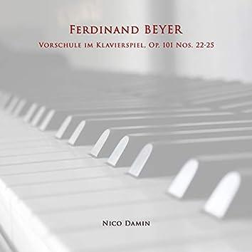Vorschule im Klavierspiel, Op. 101 Nos. 22-25