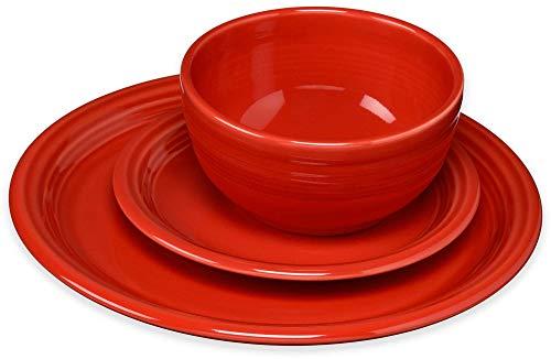 Fiesta 3 Piece Bistro Set, Scarlet