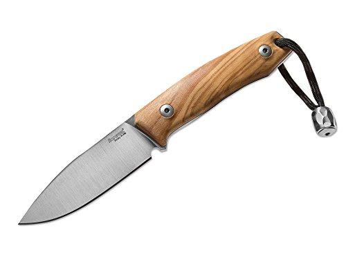 LionSteel M1 Olive Fahrtenmesser Braun, Klingenlänge: 7,4 cm, 02LS028