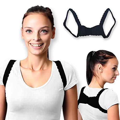 Schulter-Geradehalter Schultergurt Haltungskorrektur Frauen Rückenstütze Rückenstabilisator Posture Corrector - unter Kleidung tragbar, gegen Nacken-, Rücken-, Schulter-Schmerzen Damen