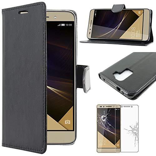 ebestStar - Funda Compatible con Huawei Honor 7 Carcasa Cartera Cuero PU,...