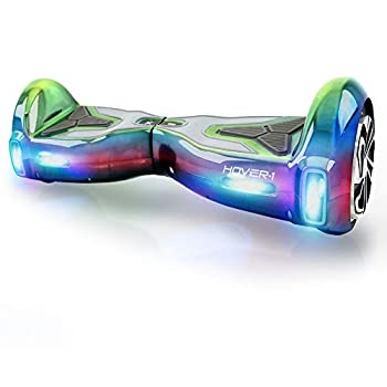 Hover-1 H1 Hoverboard Electric Scooter  Iridescent  25 x 9.4 x 9.2
