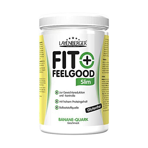 Layenberger Fit+Feelgood Slim Mahlzeitersatz Banane-Quark, 1er Pack (1 x 430 g)