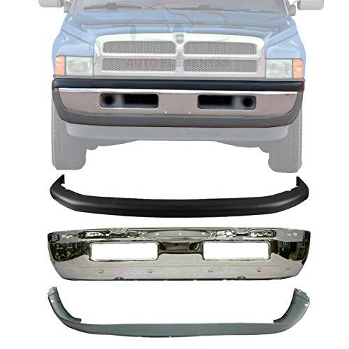 01 dodge ram 1500 front bumper - 3