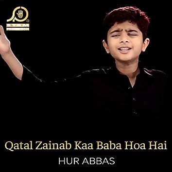 Qatal Zainab Kaa Baba Hoa Hai - Single