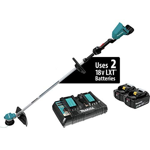 Buy Bargain Makita XRU09PT-R 18V X2 (36V) 5.0 Ah LXT Lithium-Ion Brushless Cordless String Trimmer K...