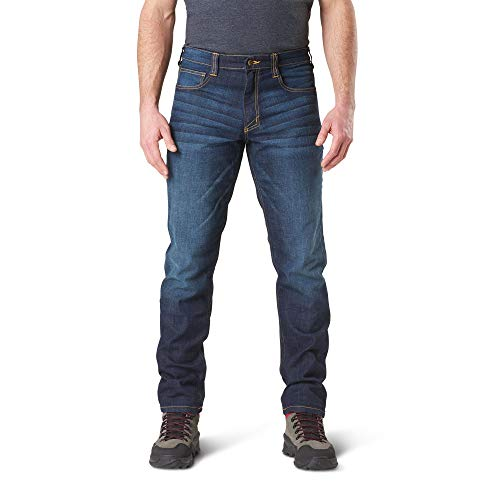 5.11 Defender-Flex Jean-Slim Indaco Scuro. W34 / L32