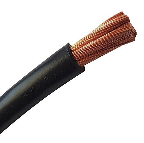 3 Meter Batteriekabel SCHWARZ H07V-K 35 mm² - KFZ Batterie Kabel - 100% OFC Kupfer - 3 m (3M) 35mm2