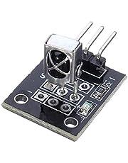 AVR PIC TW用1PCS KY-022 37.9KHz赤外線IRセンサーレシーバーモジュール-ブラック